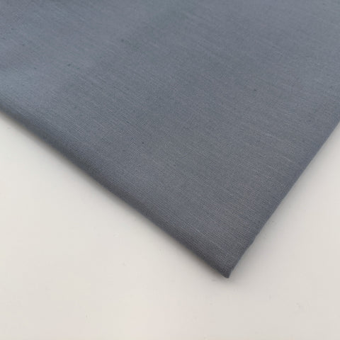 Plain dark grey 100% cotton