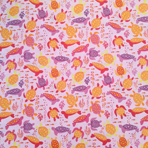 Turtles - 100% cotton - Craft Cotton co