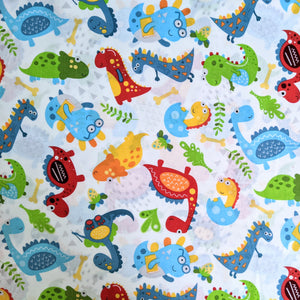 Dinosaur friends - 100% cotton - Craft Cotton co - Little Dino