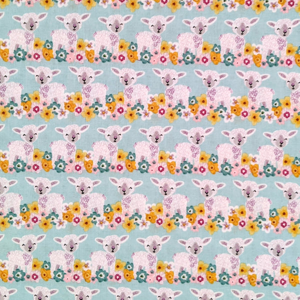 Baby lambs - 100% cotton - Craft Cotton co - Novelty Easter