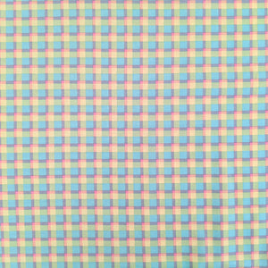 Pastel check - 100% cotton - Craft Cotton co - Novelty Easter