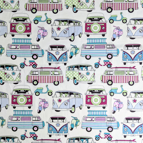 Campervans - 100% cotton
