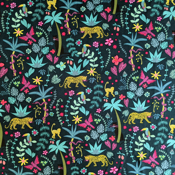 Night Jungle - 100% cotton - Night Jungle - Dashwood Studio