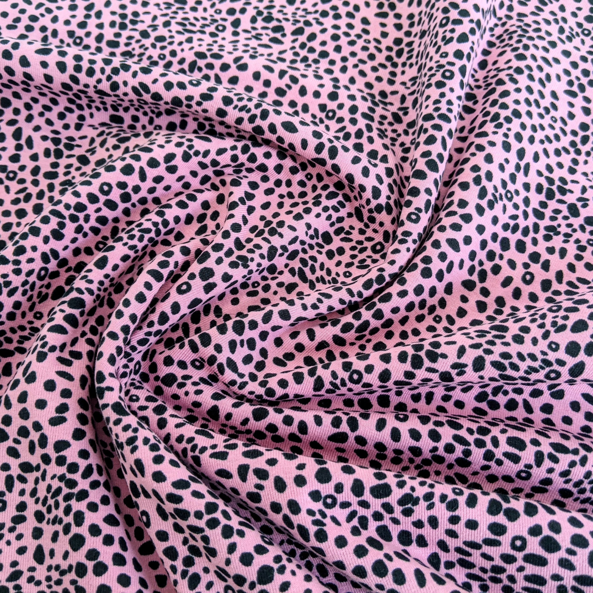 Cheetah print - Cotton elastane jersey