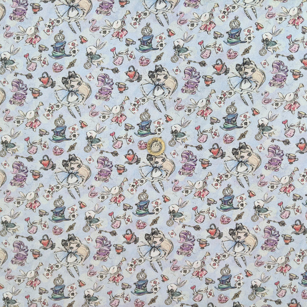 Alice party - 100% cotton - Alice in Wonderland