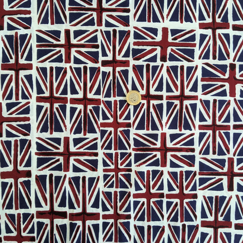 Union Jack scatter - 100% cotton
