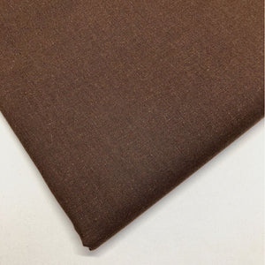 Plain brown 100% cotton