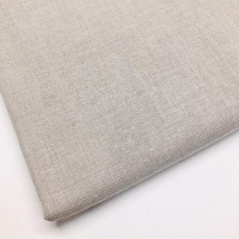 Plain light grey 100% cotton