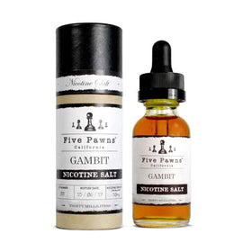 Gambit - Five Pawns Nicotine Salt - 30mL