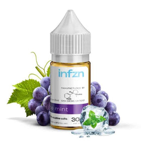 Infzn Salt Nic - Grape Mint - 30mL