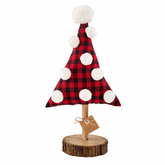 Medium Buffalo Check Fabric Tree