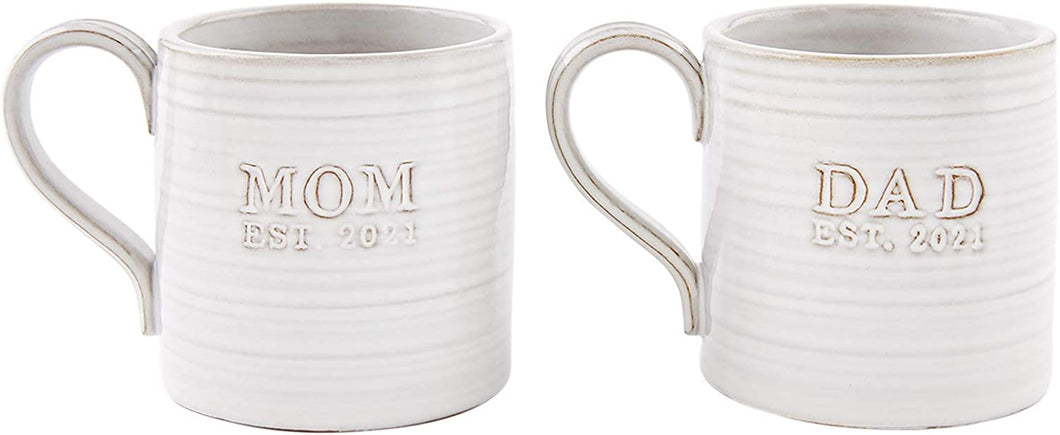Mom/Dad Est. 2021 Mug