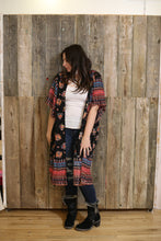 Load image into Gallery viewer, Floral Gypsy Boho Kimono
