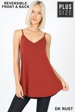 Load image into Gallery viewer, Zenana Reversible V Neck Tank