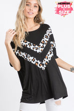Load image into Gallery viewer, Heimish Leopard Chevron Shirt