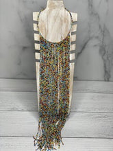 Load image into Gallery viewer, Multi Strand Long Rare Seed Bead Necklace