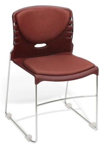 OFM Vinyl Seat & Back Stack Chair 320-VAM