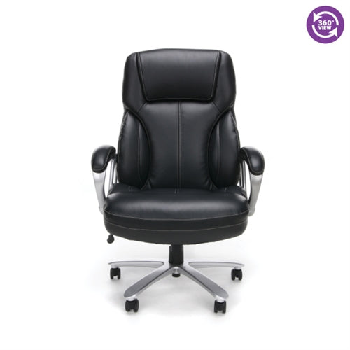 OFM Essentials Big & Tall Leather Executive Office Chair ESS-202
