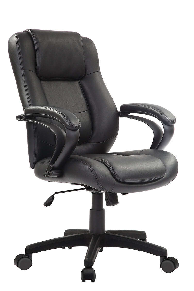 Eurotech Pembroke Manager leather Chair Black LE522