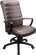 Eurotech Manchester High Back Black Leather LE150