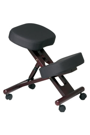 Ergonomically Designed Wood Knee Chair by Office Star