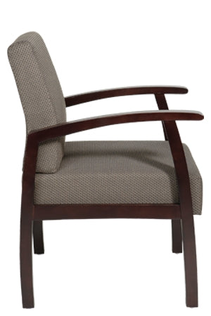 Deluxe Espresso Finish Guest Chair by Office Star