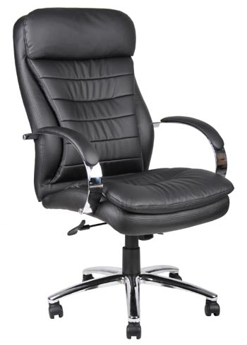 Boss Deluxe Executive Contemporary High Back Chair B9221