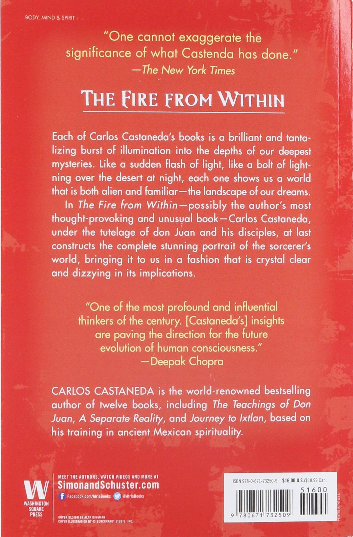 Fire from Within: Castaneda, Carlos: Amazon.com.au: Books