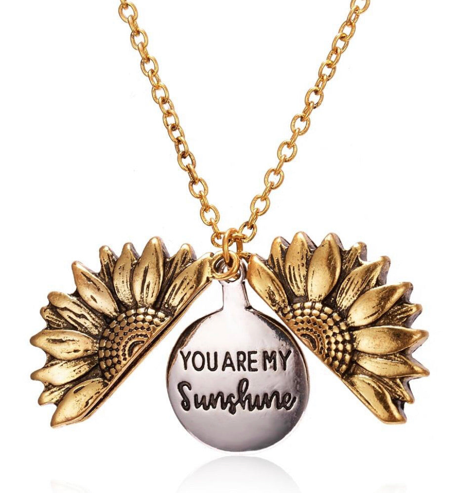 "SunShine™ | ""You are my Sunshine"" Bloemenketting"