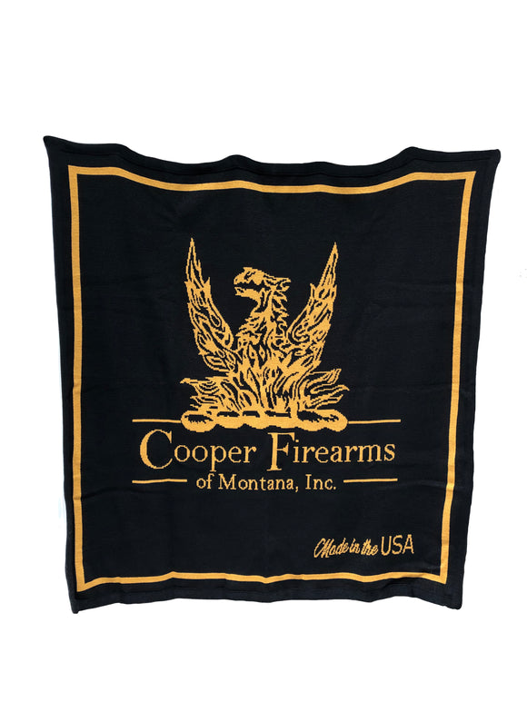 Cooper Firearms of Montana, Inc. Knit Blanket