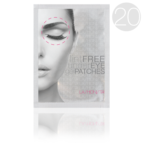lint free under eye patches for eyelash extensions 20 wholesale