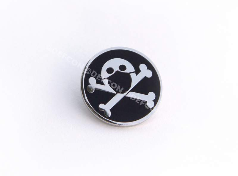 DEF CON is Canceled Corona Jack cloisonne pin