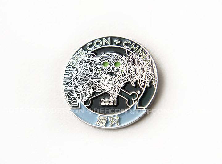 DEF CON China 2021 party Pirate pin