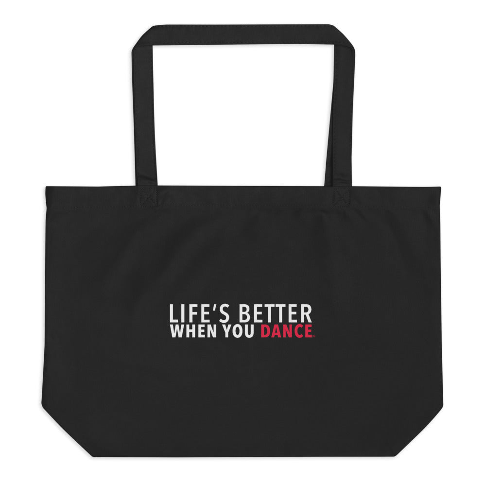 LBWYD Large Organic Tote Bag