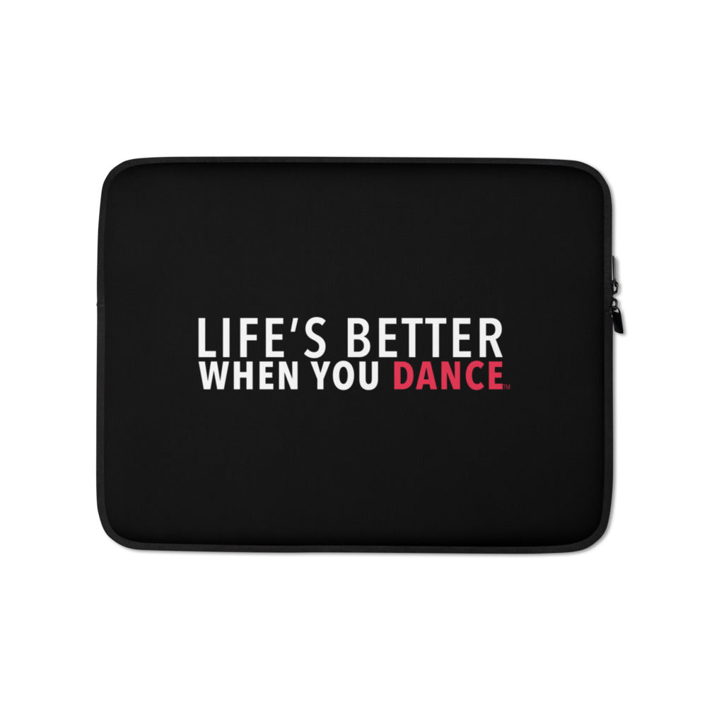 LBWYD Black Laptop Sleeve