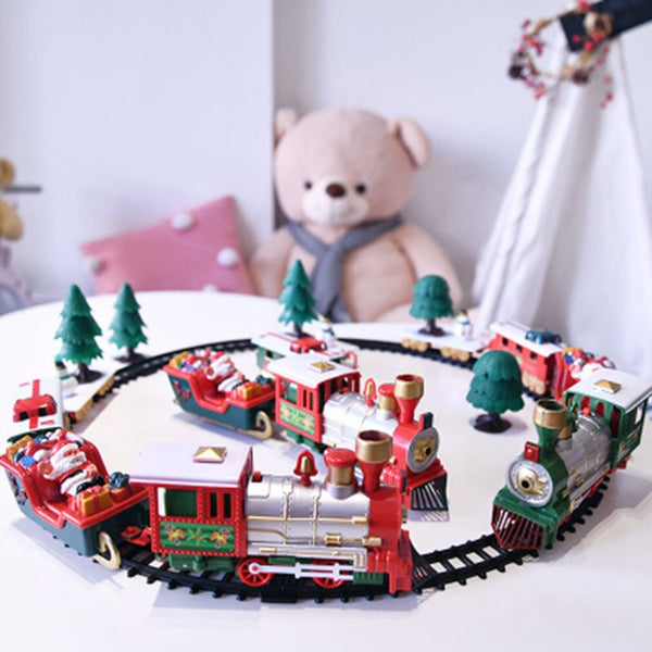 Electric Rail Car Train Toy