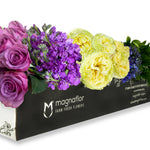 Purple Passion - Fresh Flower Box