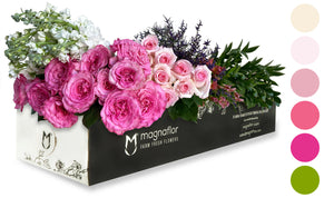 Think Pink - Fresh Flower Box