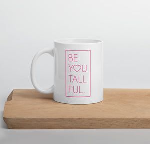Ceramic 11 oz coffee mug for tall women