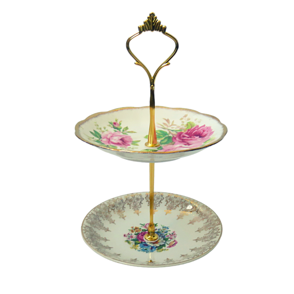 MINI ROSES PLATE STAND #01