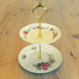 MINI ROSES PLATE STAND #06