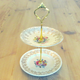 MINI ROSES PLATE STAND #09