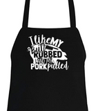 Aprons for Grillers and BBQ Lovers! 13 Designs to Choose From.