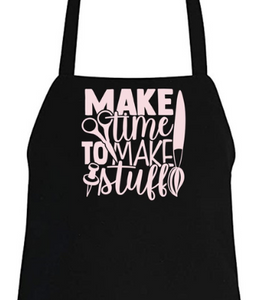 Aprons for Crafters & Makers! 9 Designs to Choose From.