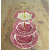 RED CAKE STAND #504