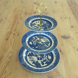 BLUE CAKE STAND #414