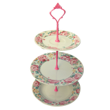 PINK CAKE STAND #608