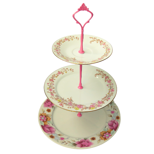 PINK CAKE STAND #609