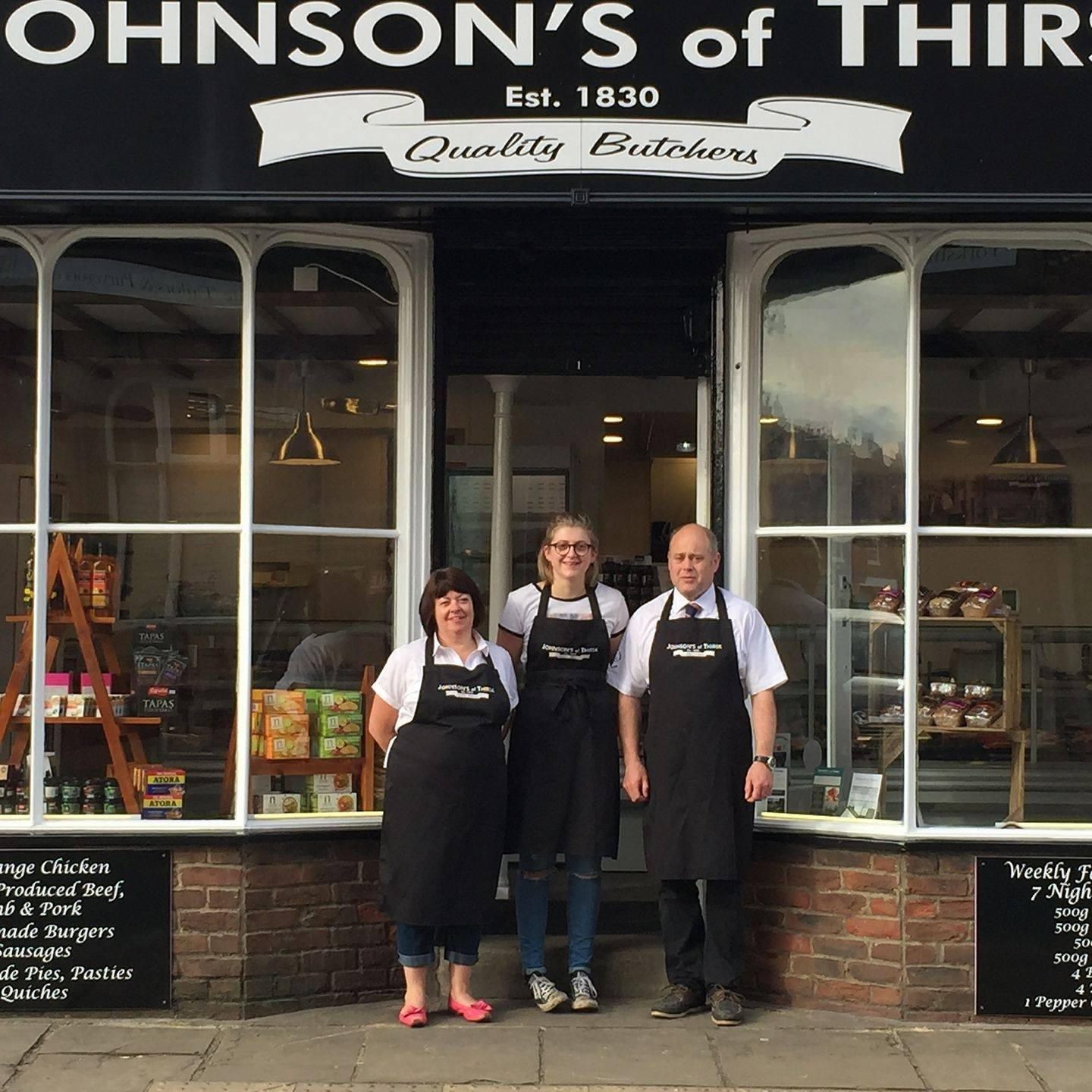 Johnson's of Thirsk - Team