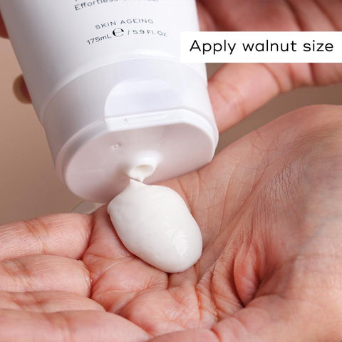 Applay Walnut Size of Cream Cleanse